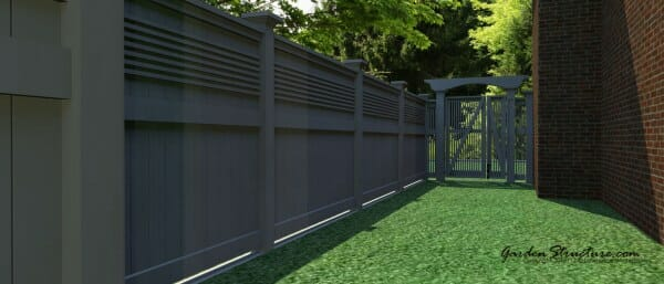 custom fence design services