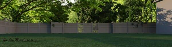 custom fence plans designs for fences