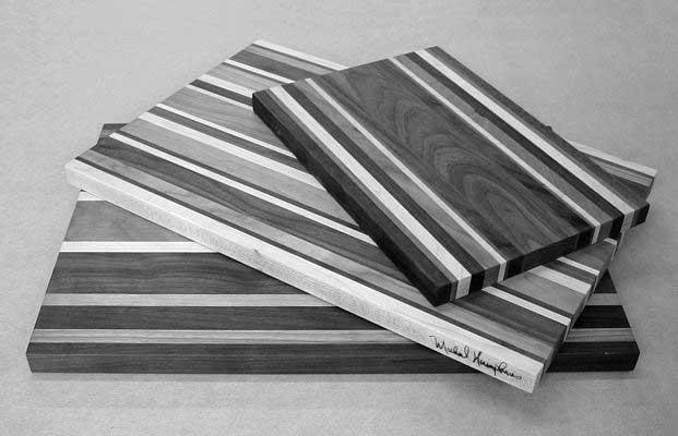 diy woodwork cutting board
